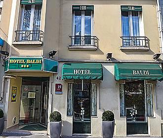 Hotel Baldi facade