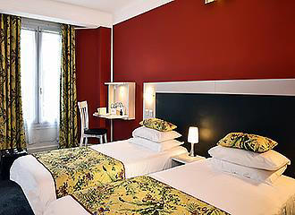 Hotel Baldi bedroom