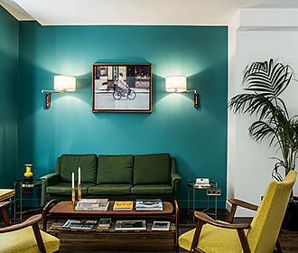 Hotel Beaurepaire lounge