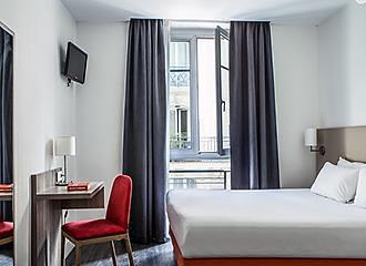 Hotel Beaurepaire bedroom