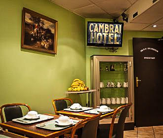 Hotel Cambrai Breakfast Room