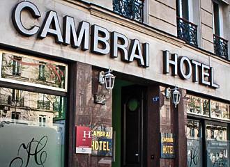 Hotel Cambrai Entrance
