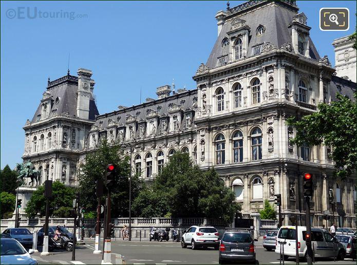 Photo Of Hotel De Ville In Paris