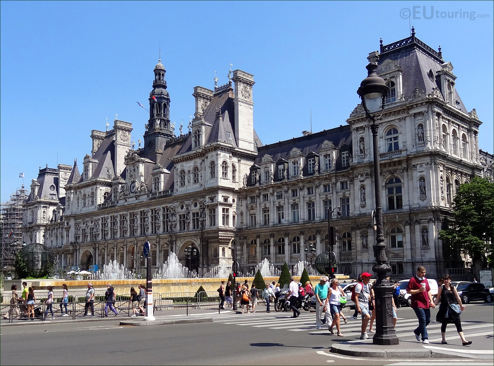 Hd photos of hotel de ville in paris france page 1 for Piscine de france