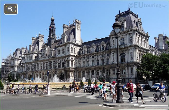 Photo Of Hotel De Ville In Paris