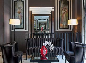 Hotel Eiffel Seine lounge