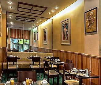 Hotel Elysee Etoile breakfast room