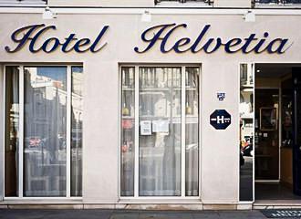 Hotel Helvetia Entrance