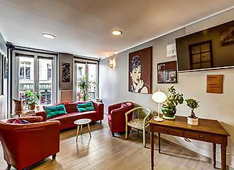 Hotel Montmartre Clignancourt lounge