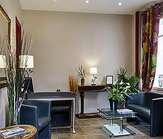 Hotel Montsouris Orleans reception