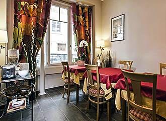 Hotel Montsouris Orleans breakfast room