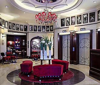 Hotel Pont Royal reception