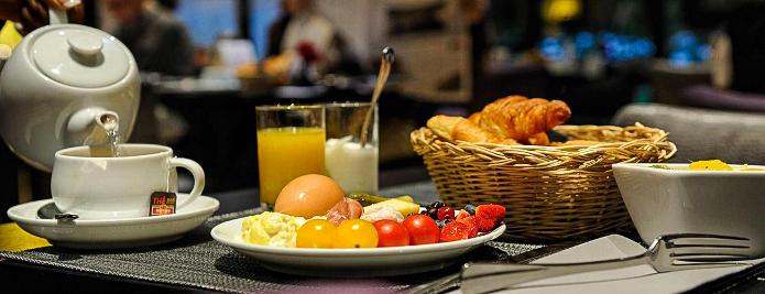 Hotel Pont Royal breakfast