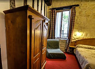 Hotel Saint-Andre Des Arts Bedroom