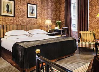 Hotel Villa d Estrees Bedroom One
