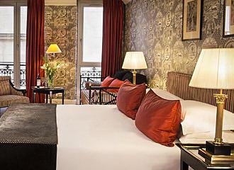 Hotel Villa d Estrees Bedroom Two
