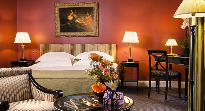 View Of Hotel Villa d Estrees Bedroom Four