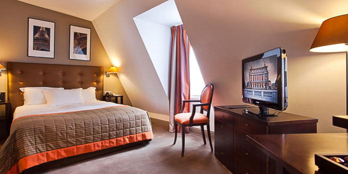 Hotel WO Deluxe Double Beadroom Three