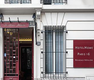 HotelHome Paris 16 facsde