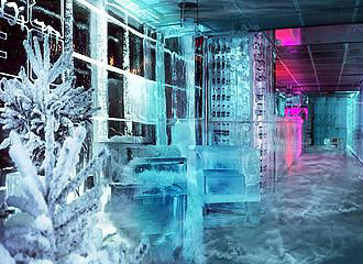 Ice Kube Bar Decor