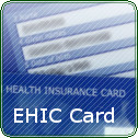 EHIC European Health Insurance Card