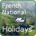 French National Holidays In France