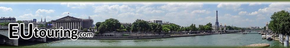Eutouring.com Ile De France Header Image