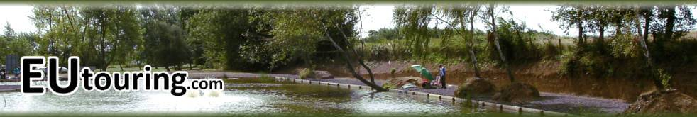 Eutouring.com French Campsites With Fishing Header Image