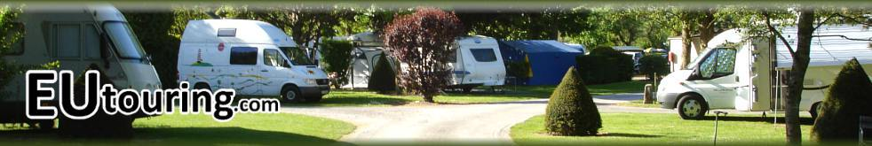 Eutouring.com French Campsites With Motorhome Service Areas Header Image