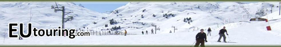 Eutouring.com French Campsites With Skiing Header Image