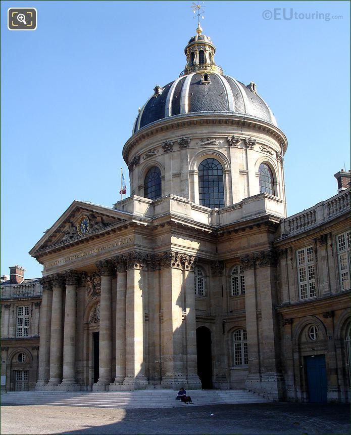 Institut de France Facade And Cupola