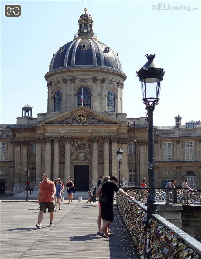Institut de France And Pont des Arts