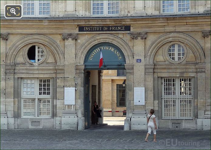Entrance To Institut de France