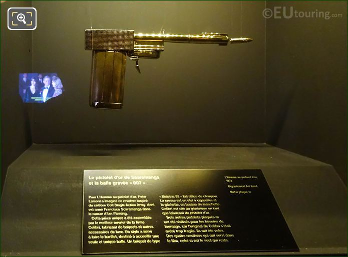 Gun From The Man With The Golden Gun
