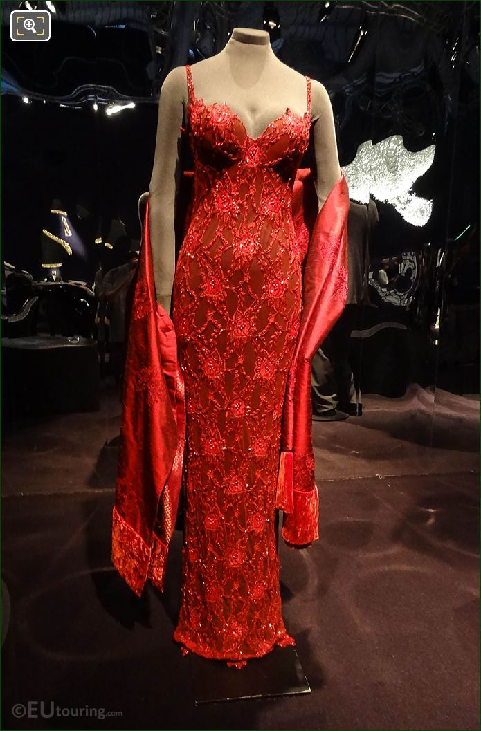 Taliso Soto Dress From Bond Film Licence To Kill