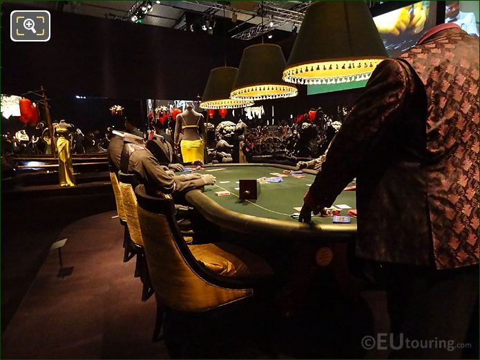 Poker Table From Bond Film Casino Royale