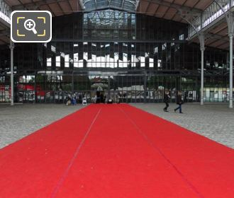 Grande Halle Red Carpet For Bond Exhibition Paris