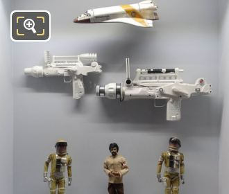 Models From Bond Film Moonraker