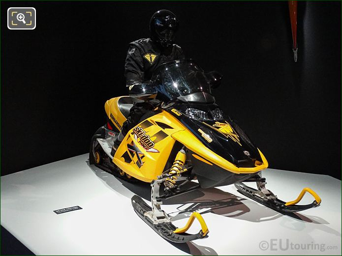 Die Another Day Bombardier MX Z-REV Snowmobile