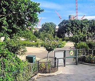 Jardin Catherine Laboure Garden In Paris France