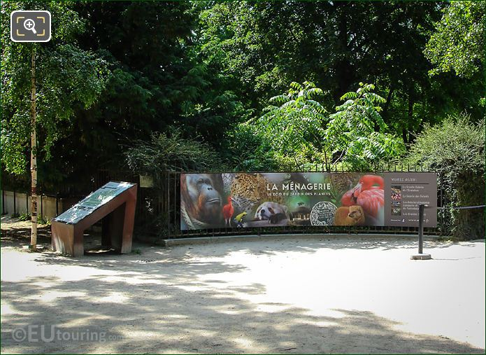 Menagerie Zoo Entrance
