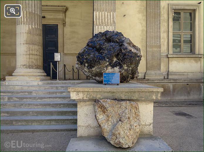 Black Quartz Crystals Jardin Des Plantes
