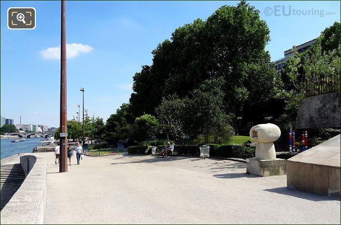 Jardin Tino Rossi Mushroom Sculpture