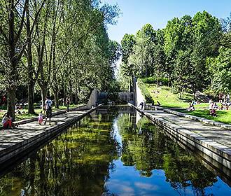 Jardin yitzhak rabin garden in paris france for Jardin yitzhak rabin