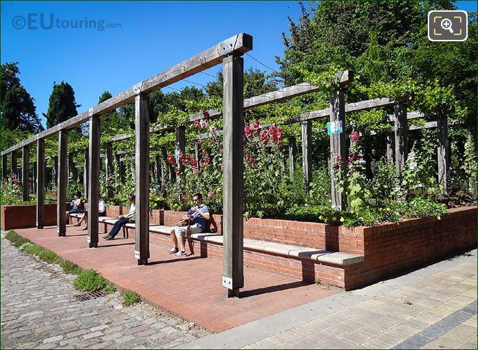 Jardin Yitzhak Rabin Les Treilles