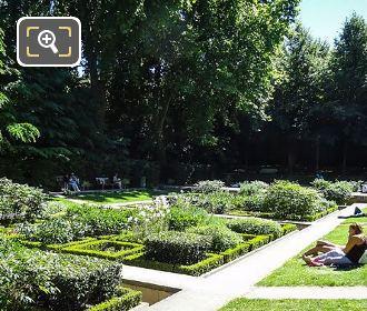 Jardin Des Senteurs In Yitzhak Rabin Gardens