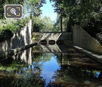 Jardin Yitzhak Rabin Water At Rue Joseph Kessel