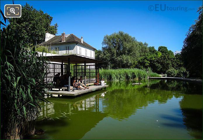 Pavillon Du Lac Water Pergola