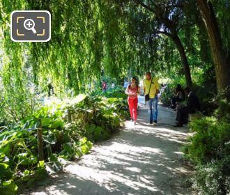 Jardin Yitzhak Rabin La Vallee Pathway
