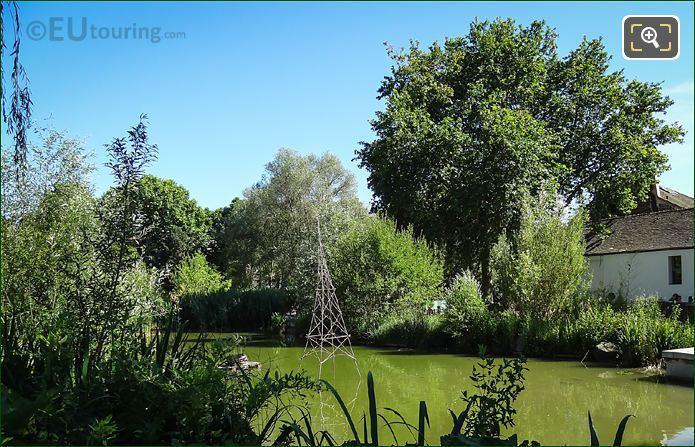 Yitzhak Rabin Wooden Eiffel Tower